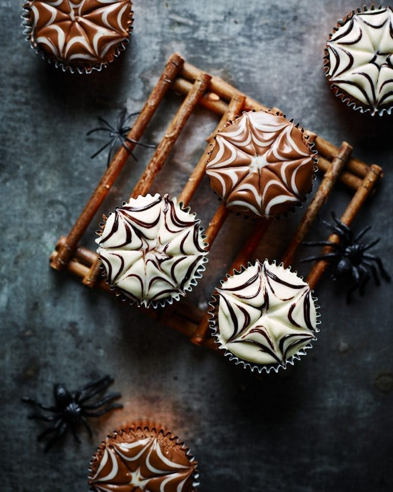 Spooky chocolate cupcakes | delicious. magazine