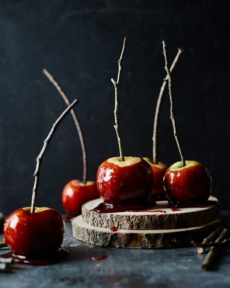 Ultimate toffee apples