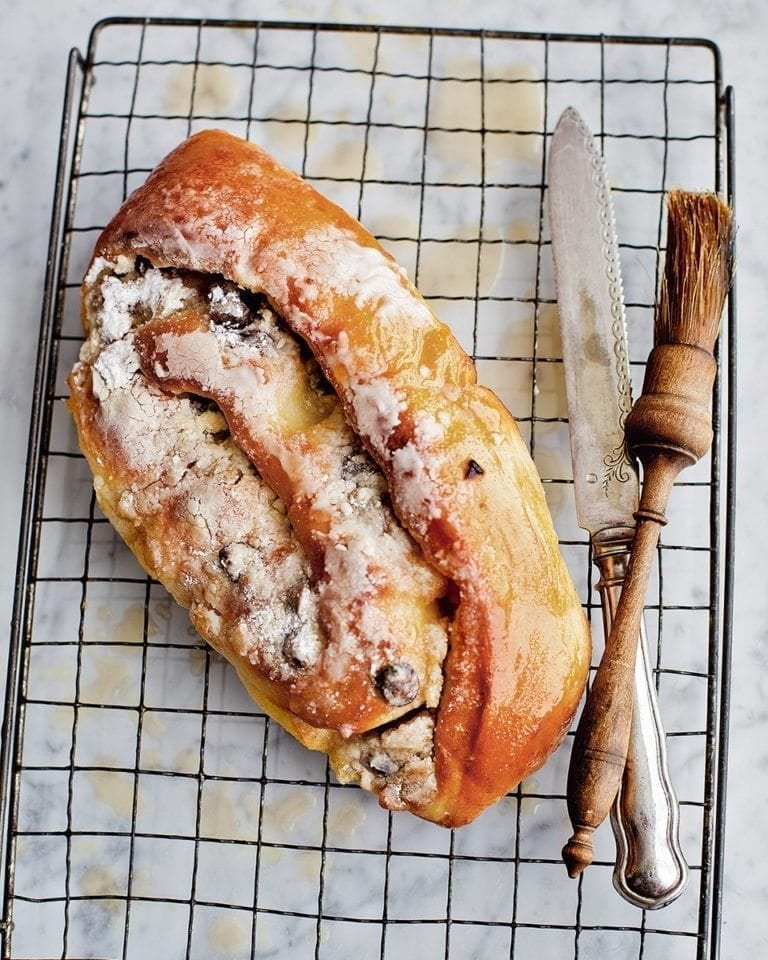 Richard Bertinet's Christmas stollen