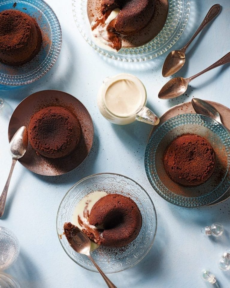 Molten-middle Lindor fondants