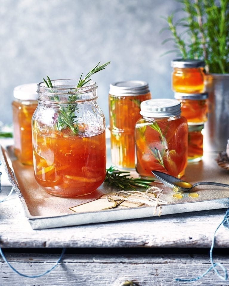 Grapefruit and brandy marmalade