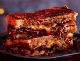 Ultimate Christmas leftover sandwich