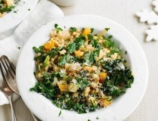 Pearl barley and vegetable stew