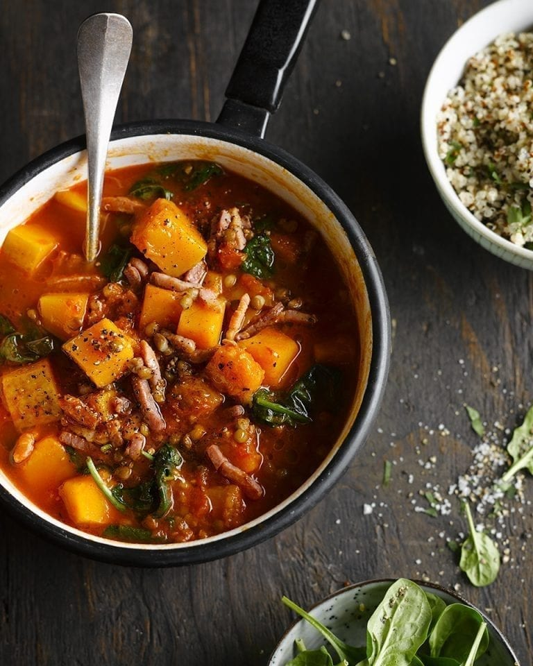 Knorr's butternut squash and lentil one-pot