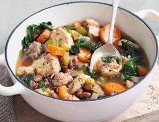 Chicken & bean casserole