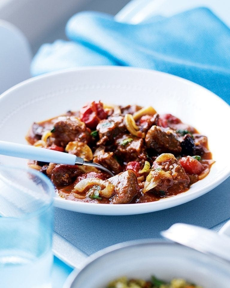 Easy lamb tagine