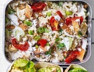 Waldorf pasta salad