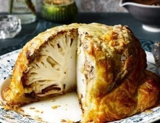 Cauliflower wellington