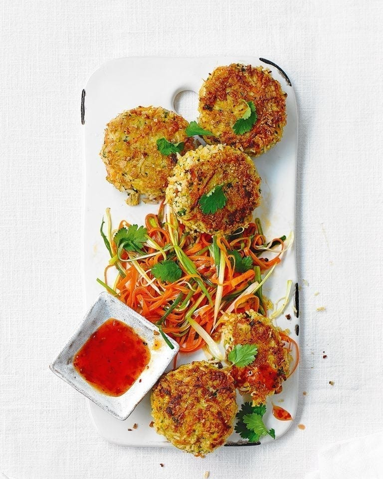 Crispy Vietnamese fishcakes