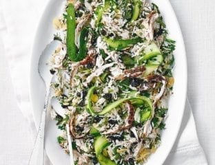 Scandi-style chicken and rice salad
