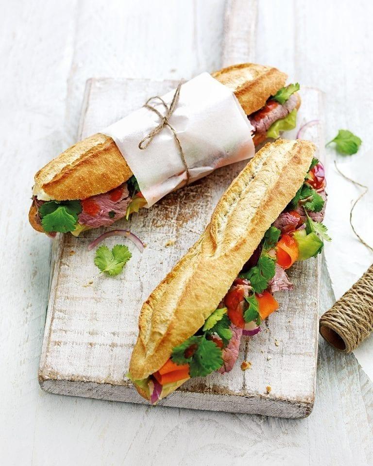 Banh mi (Vietnamese baguette)