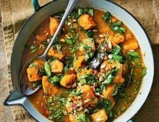 Butternut massaman curry