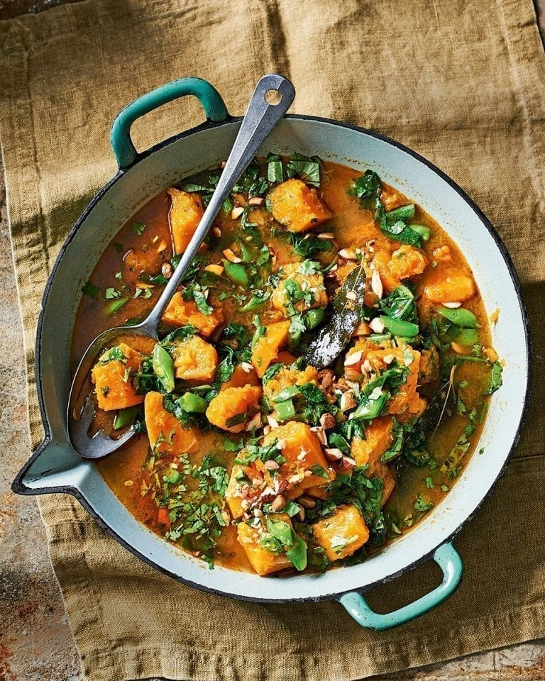 Butternut massaman curry