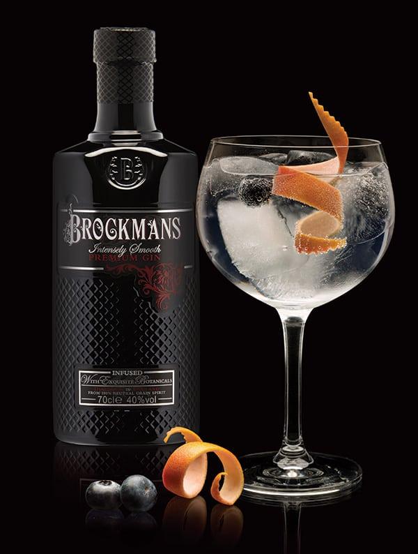Brockmans Gin bottle