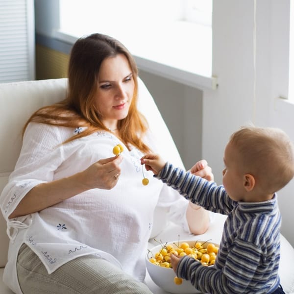 Mothers' diet gives babies a healthy start