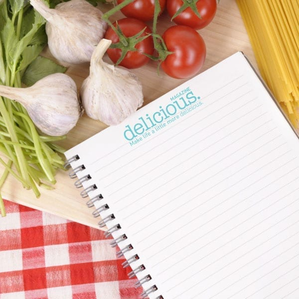 delicious. shopping lists