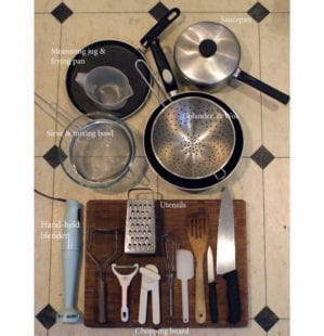Student Guide to basic kitchen equipment