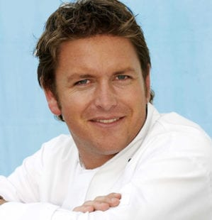 Five minutes with James Martin