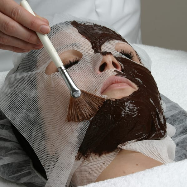 Try a chocolate facial