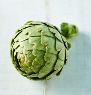How to prepare a globe artichoke