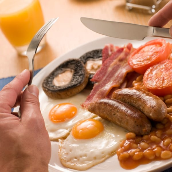 The smart way to… cook a fry-up