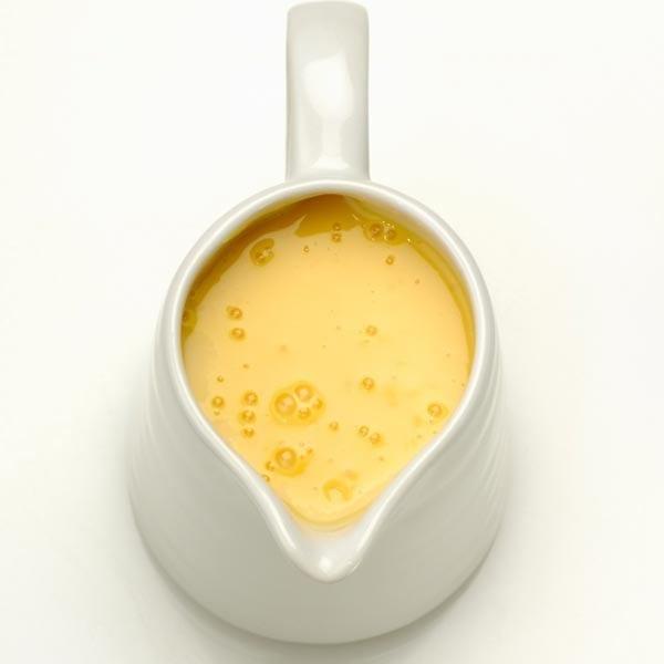 Fresh egg vanilla custard