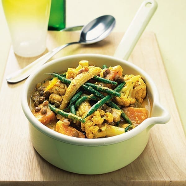 Spiced vegetable curry