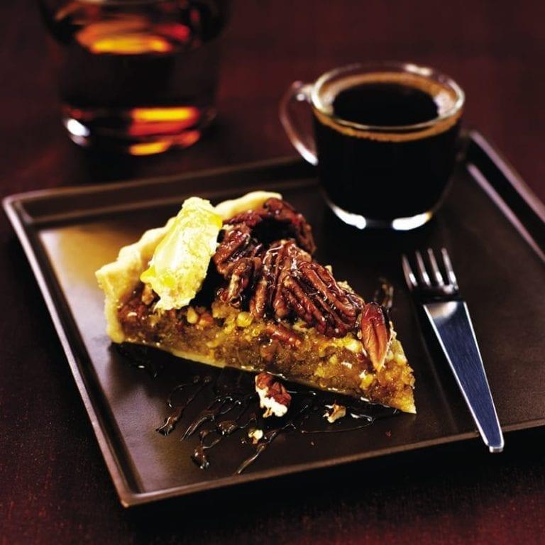 Pecan Treacle Tart Recipe Delicious Magazine
