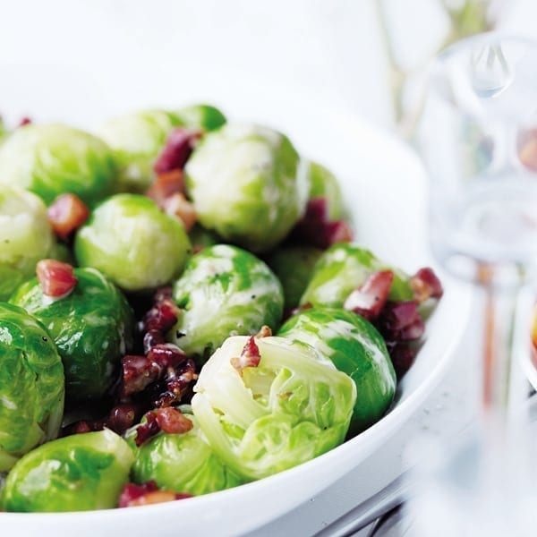 Sprouts with pancetta