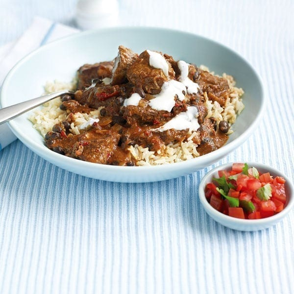 Spicy steak and black bean chilli