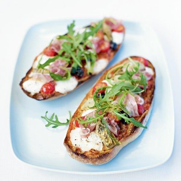 Ciabatta pizzas | delicious. magazine