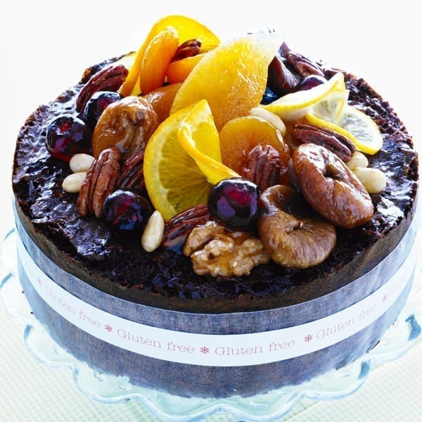 Gluten-free rich fruit cake