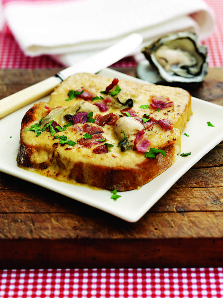 Welsh rarebit with a twist