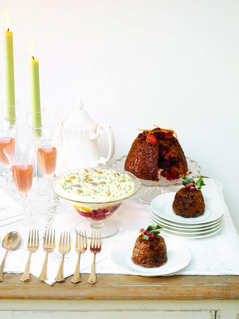 Christmas pudding with Grand Marnier
