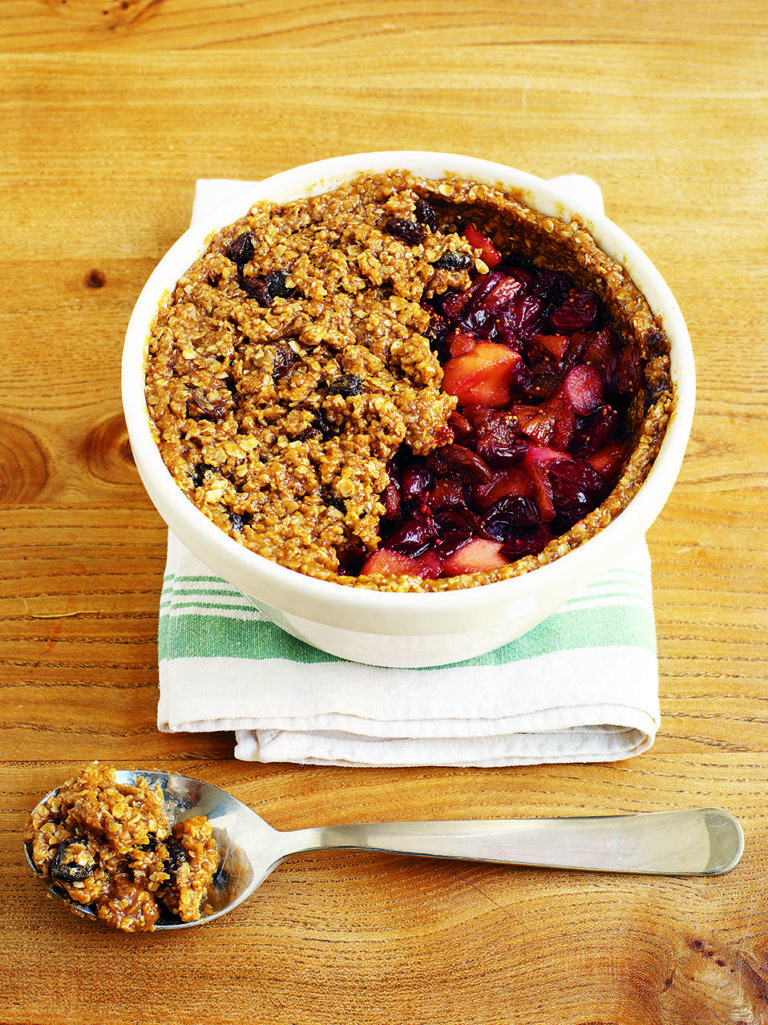 Cranberry Christmas pudding