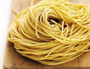 Basic pasta for a pasta maker