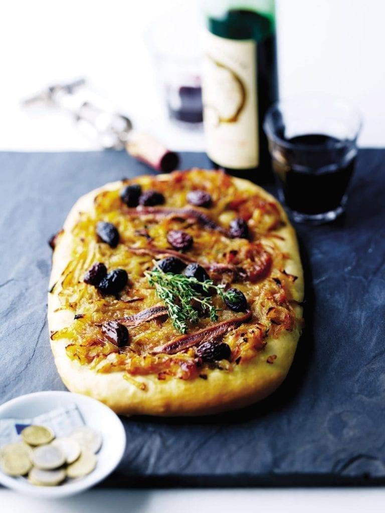 Pissaladière pizza