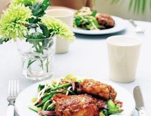 Honey and ginger chicken