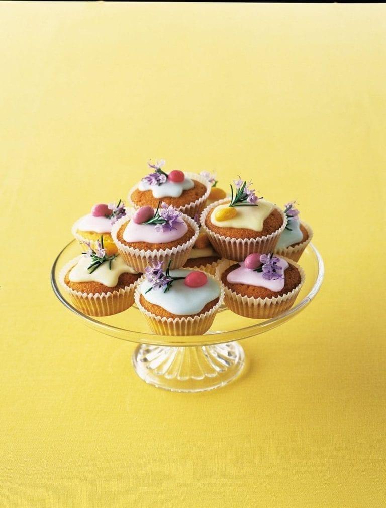 Lemon and rosemary cakes