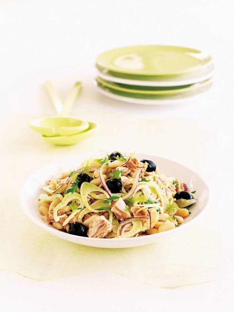 Tuna, fennel and white bean salad