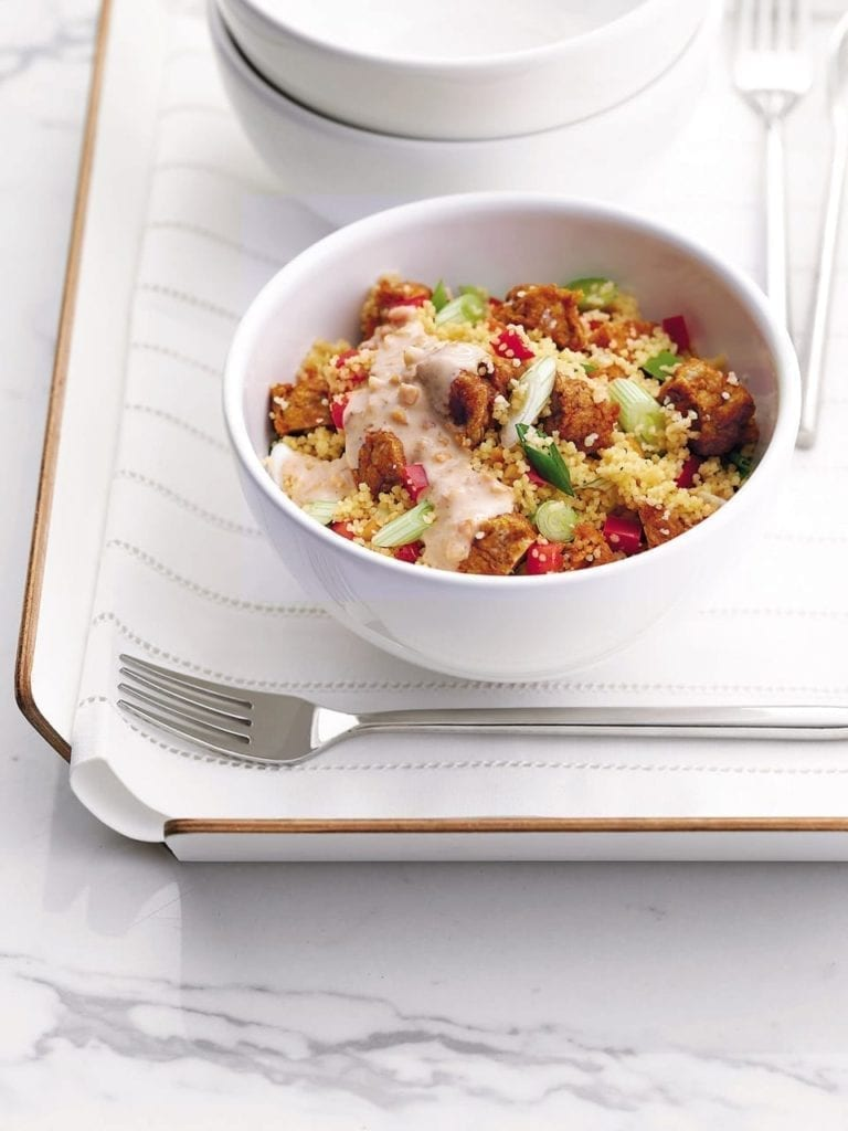 Indonesian-style chicken couscous