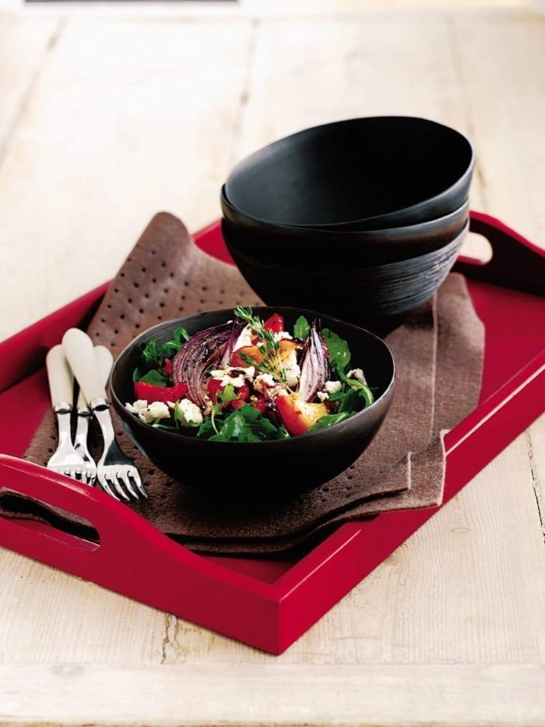 Warm vegetable salad