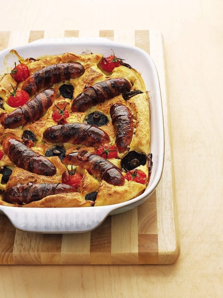 Brunch-style toad in the hole