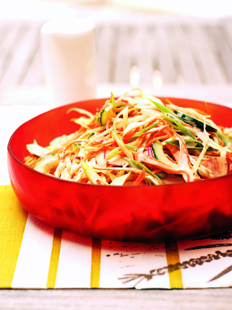 Five-spice coleslaw
