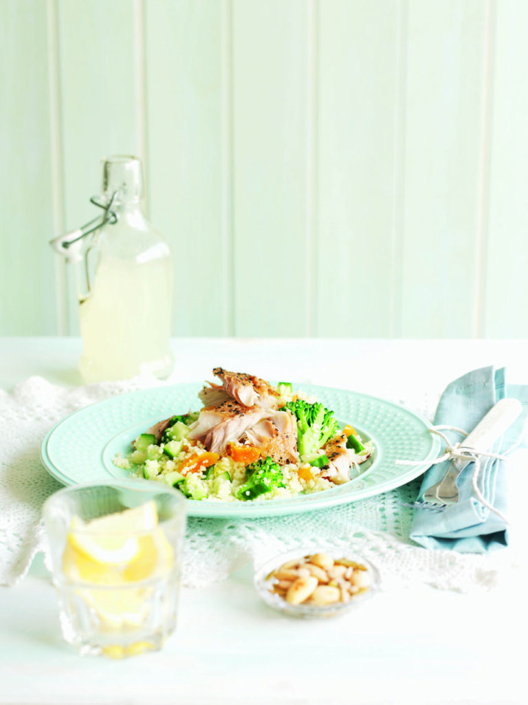 Smoked mackerel and couscous salad