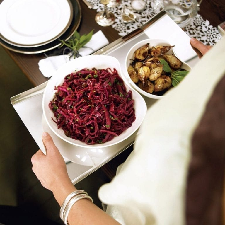 Balsamic red cabbage