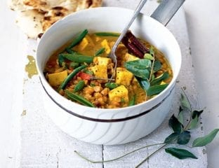 Split pea and vegetable curry