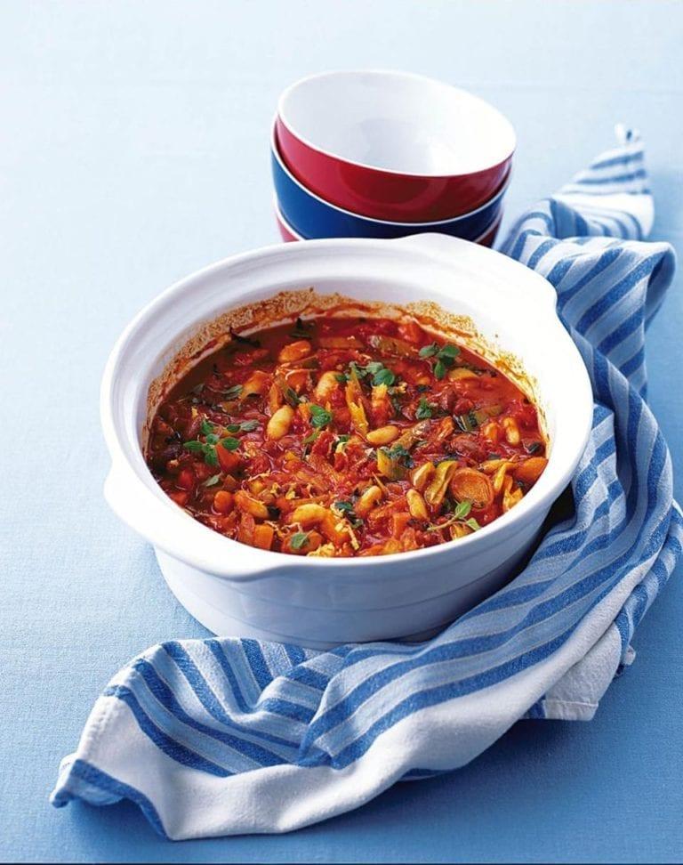 Italian bean casserole