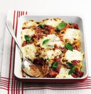 Cheat's lasagne video recipe