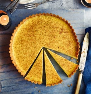 How to line and blind bake a tart tin video